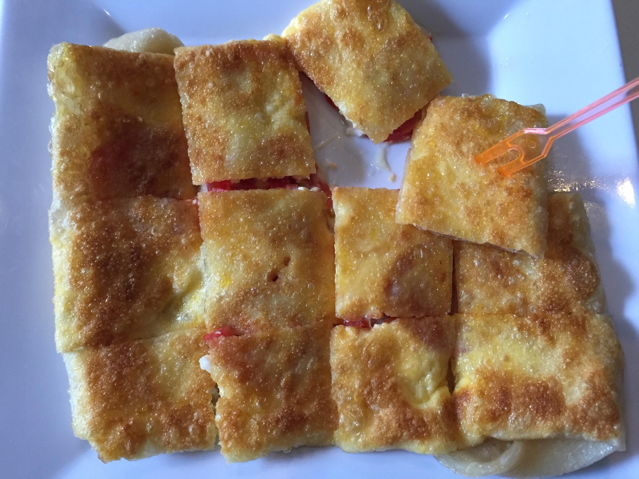 トマトチーズ卵、50B